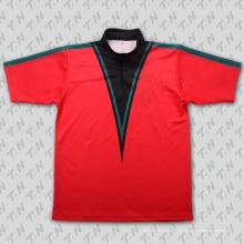 2015 Fashion Crimson Sublimation Tennisbekleidung