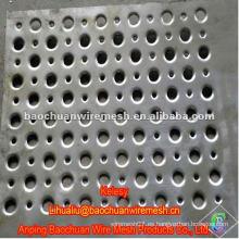 La plata de la alta calidad galvanizó las mallas de perforación del agujero con precio razonable en almacén