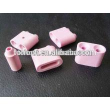 cojín de cerámica rosa / blanco / perlas de cerámica en alúmina para calefacción