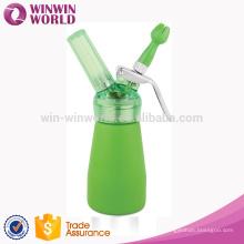 New Design 250ML Aluminum Colorful Cream Whipper/Dispenser
