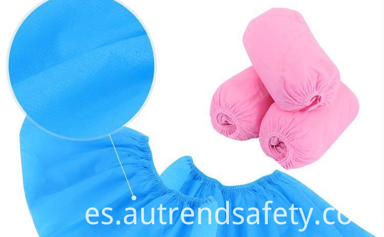 Disposable Shoe Cover Disposable Non Woven Shoe Covers Blue Color Non Woven Boot Cover