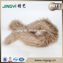 Wholesale fantasia mongol lenço de pele de ovelha