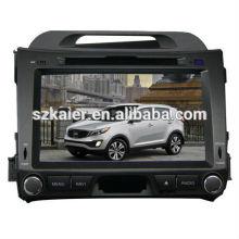 Заводская цена автомобиля мультимедиа система для Киа Спортейдж 2013 с GPS/Bluetooth/Рейдио/swc/фактически 6 КД/3G интернет/квадроциклов/ставку/видеорегистратор