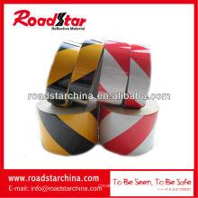 Engineering-Grad schräge Streifen Reflexfolie Warnung Reflexfolie