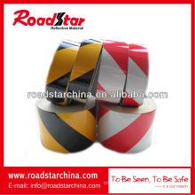 Engineering grade slant stripe reflective tape reflective warning tape