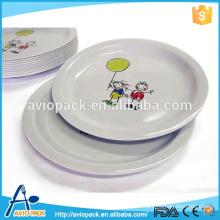 Eco-Friendly Food Grade Melamine Plate Dish
