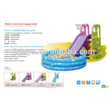 YQ1364 wholesale hotsale Preschool Kids Plastic Small happy Play Tube Slide to kids