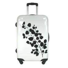 Heat Transfer Printing On Stylish Suitcase