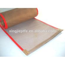 PTFE fiberglass open mesh PTFE Open Mesh Fiberglass Fabric belt cloth