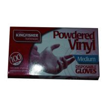 100pk Powdered Vinyl Disposable Glove