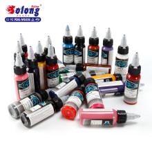 Body Art Solong TI601-30-25 Tattoo Ink Makeup Best Shader original imported glitter tattoo ink