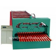Forward Corrugated Steel Roofing Sheet Rollo que forma la máquina