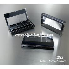 Moda cuatro colores sombreador de ojos sombreador de ojos envase contenedor cosméticos sombreador de ojos paleta cosmético embalaje caja