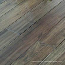 Gris oscuro rústico antiguo aspecto antiguo Robinia chino teca suelo de madera maciza