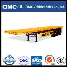 Cimc Container Chassis, Semi Reboque Caixa Fechada 40FT