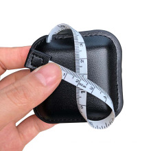 Real Leather Square Sewing Tape Measure