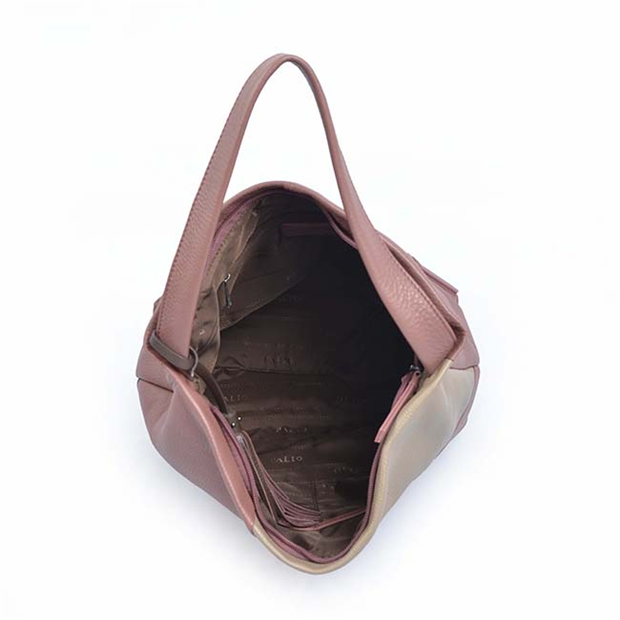 Women Clemence Leather Tote Bag Hobo Shoulder Bag