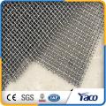 гофрированные проволочной сетки из стальной проволоки сетки, применение обжим сетка заборная(производство Аньпин)
