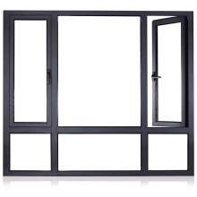 China Supplier Low Energy Cost Insulated Double Glass Aluminium Doors and Windows