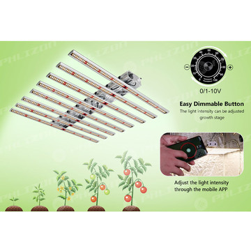 24 inç 240w IP65 Hipodronik Led Grow Işık