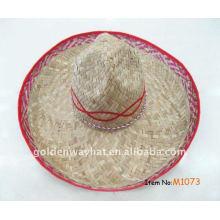 Chapéu do sombrero da fábrica do chapéu do vietnam feito sob medida da forma