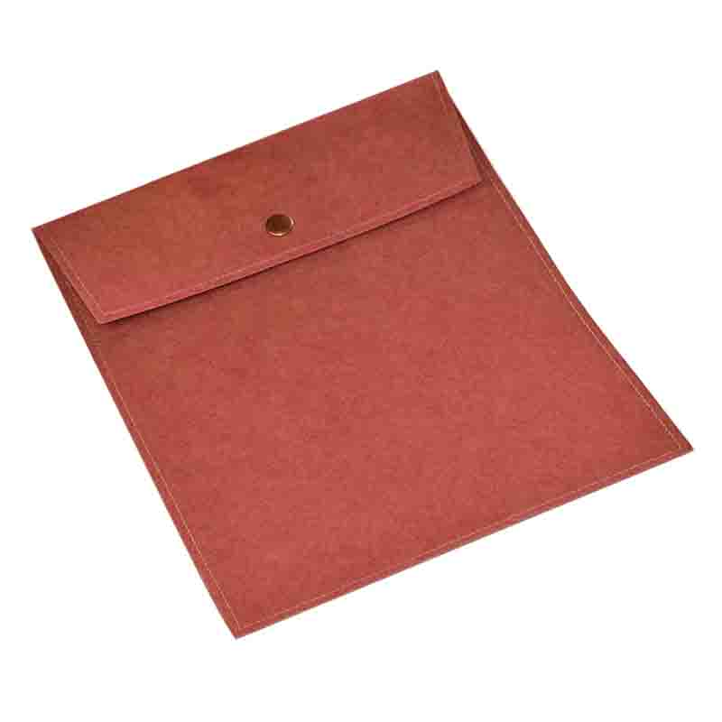 Kraft Paper Button Paper Bags