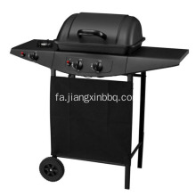 کوره 2 Burners Gas BBQ Grill with Side Burner