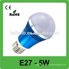 3 Jahre Garantie-Qualität CER RoHS 5W dimmable geführtes Punktlicht e27 220V