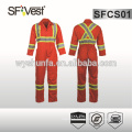 2015 Canada style high quality overalls for men with poly-cotton fabric and many pockets conform to CSA Z96-09 CLASS 1