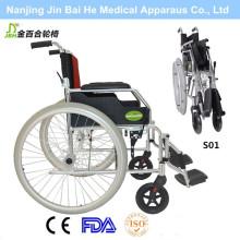 Faltbare Aluminiumlegierung im Freien manueller Rollstuhl