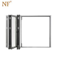 Cheap fiber glass insulated accordion folding door