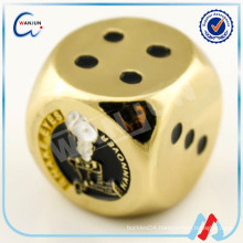 fashion engraved dice playing