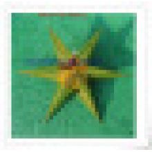 Gold Film Papier Laterne, dekorative Laterne Star Bulk Laterne Chinesisch