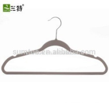 velvet clothes hanger for wholesale