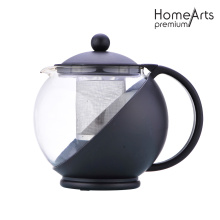 Plastic Housing Glass Teapot
