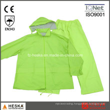 High Quality Mens PVC Rain Waterproof Rainsuit