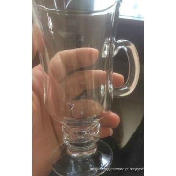 Copo de café de vidro copo de cerveja beber copo de gelado copa Kb-hn07176