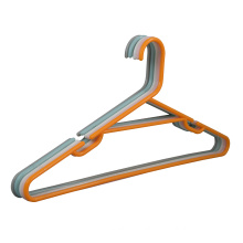 wholesale color cheap price plastic hanger recycled plastic shirt cloth hanger