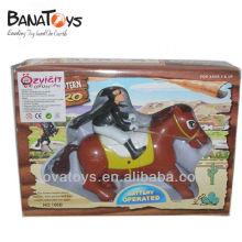 Juguete de carreras de caballos zorro con pilas con sonido 905060639
