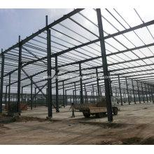 Taller H-Estructura de acero Edificio hecho de columna
