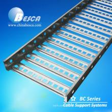 Bandeja de cabo do tipo da escada de Besca para o apoio de cabo interno