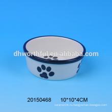 Керамическая чаша для корма для домашних животных 2016 года для оптовой продажи