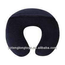 customized u-shape memory foam pillow travel neck pillow