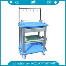 AG-IT003A3 ABS enfermería tratamiento clínica vestirse carrito para médico
