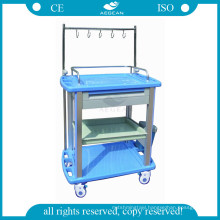 AG-IT003A3 ABS nursing treatment clinic dressing cart for medical
