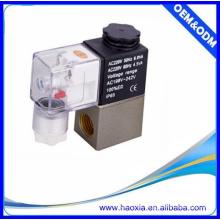 HAOXIA 2V025-08 direkt wirkendes Mini-Magnetventil Wasserventil AC220V