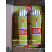 100% Paraffin Candle Household White Candle