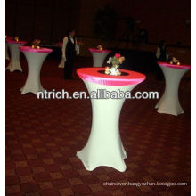 high bar cocktail table cloth for wedding