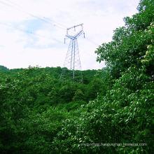220 Kv Owl Type Angle Power Transmission Iron Tower