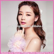 WS0006 imitated pearls lace charm bracelet vintage bangle wristband fashion bride jewelry accessory